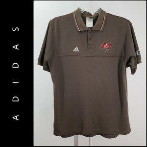 Adidas Men Short Sleeve Tampa Bay Buccaneers Polo